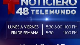 Noticiero Telemundo 48 ahora a las 5PM