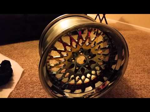 Unboxing custom AG rims