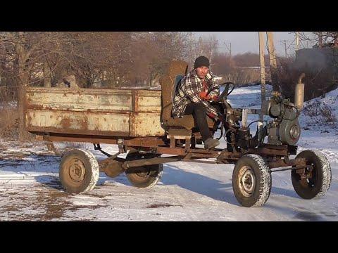 Самодельный грузовик из металлолома. Как своими руками сделать исправное транспортное средство?