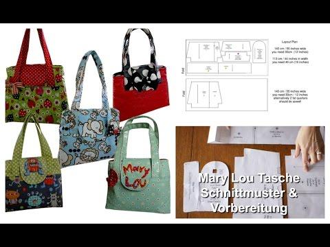 Kindertasche nähen - Einführung (Mary Lou Schnittmuster)
