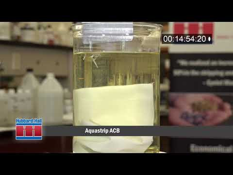 Quickly Strip Paint from Most Metals with Aquastrip ACB-Demonstration