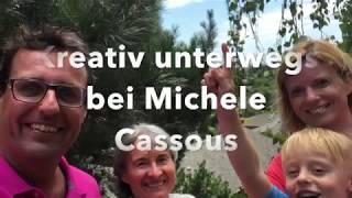 Kreativ unterwegs bei Michele Cassou
