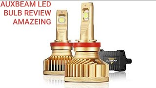 Auxbeam H11 LED Headlight Bulb GT Series High  9000lm Review