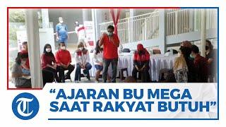 Ketua DPD PDIP DKI: Ajaran Bu Mega saat Rakyat Membutuhkan, Ada PDI Perjuangan