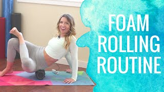 Foam Roller Exercises | Foam Rolling Routine by Super Sister Fitness