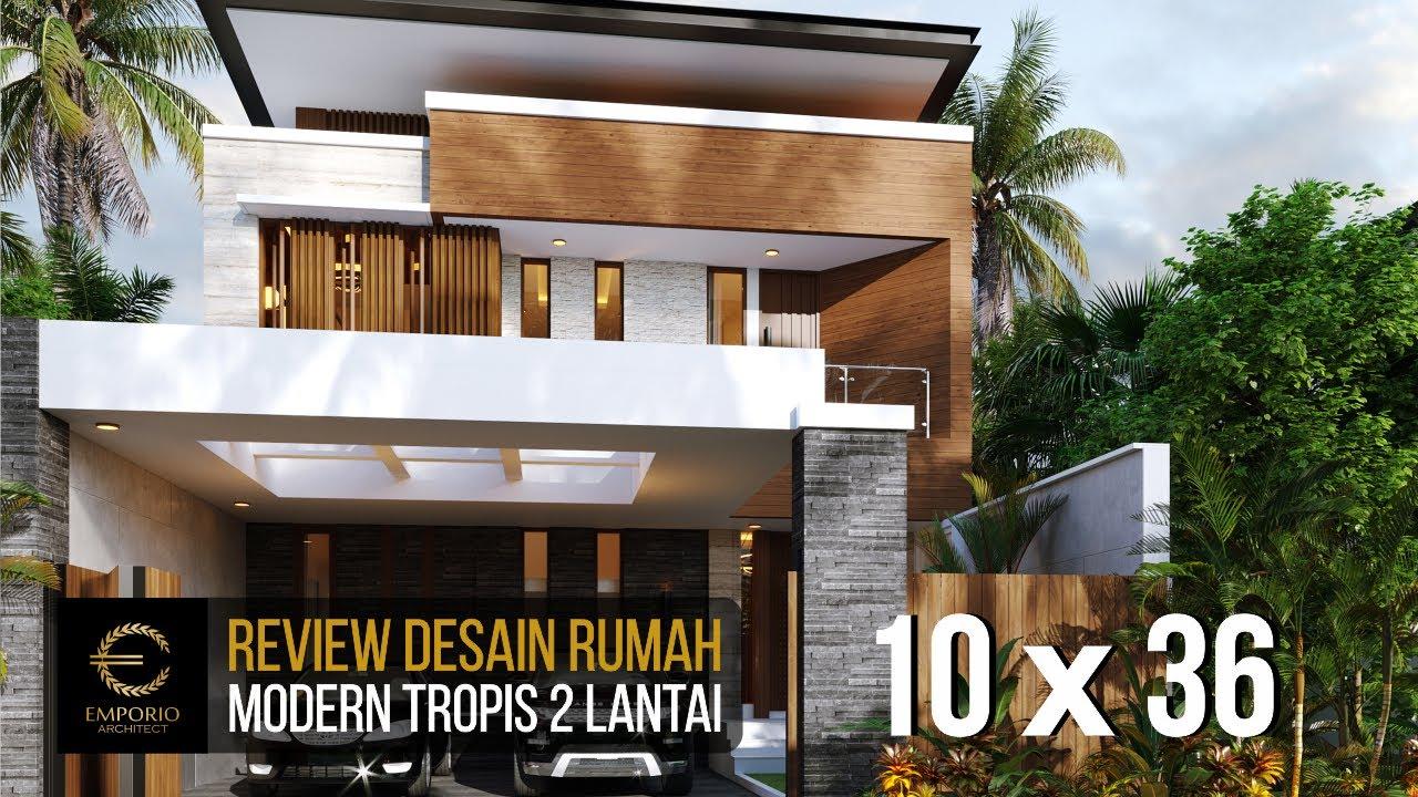 Video 3D Desain Rumah Modern 2 Lantai Bapak Nicolas di Makassar, Sulawesi Selatan