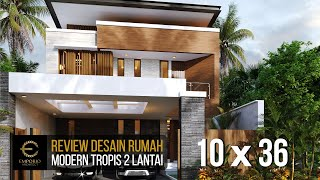 Video Mr. Nicolas Modern House 2 Floors Design - Makassar, Sulawesi Selatan