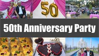 50th Anniversary Party Celebration Ideas Video Golden Jubilee | Bhavna's Kitchen