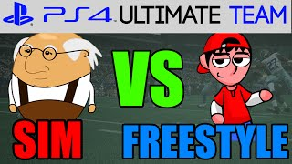 Madden 15 - Madden 15 Ultimate Team - SIM VS FREESTYLE? | MUT 15 PS4 Gameplay