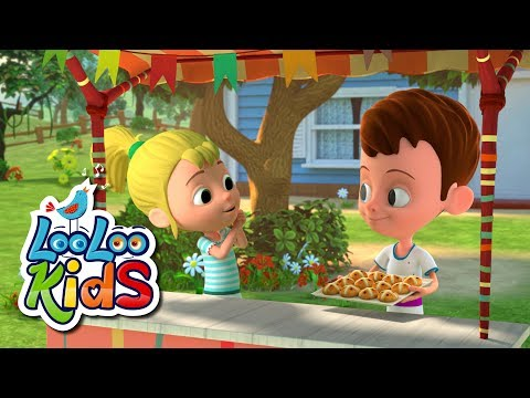 Hot Cross Buns - THE BEST Songs for Children | LooLoo Kids