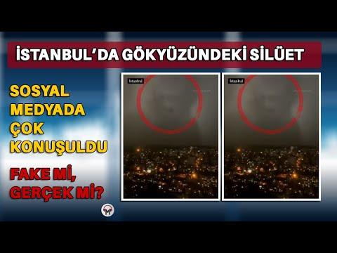 Turkije gezicht in de wolken