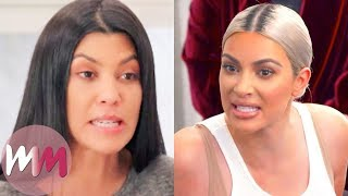 Top 10 Fights on Keeping Up with the Kardashians