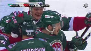 Пашнин экранирует, Галиев открывает счёт шайбам Финала
