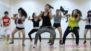 Girl Style Hiphop Class BIRTHDAY CAKE By Tran Le VDANCE Studio