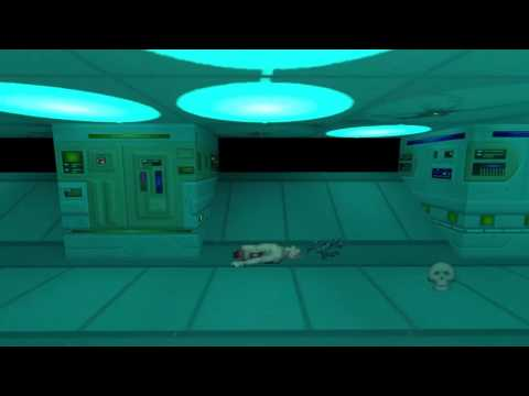 Medical level from System Shock imported to Unity