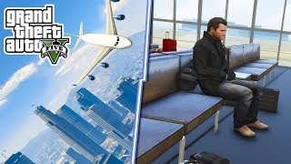 GTA V AIRPORT INTERIOR MOD WITH WORKING AIRLINES! - GTA Airlines Mod! - Gta 5 Mods!