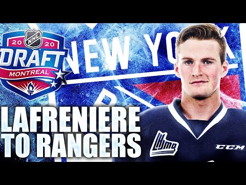 NEW YORK RANGERS WIN ALEXIS LAFRENIERE: 2020 NHL Draft Lottery PART 2 (NHL Top Prospects News Today)