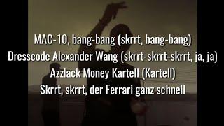 CAPO   ALEXANDER WANG (Official HQ Lyrics) (Text)