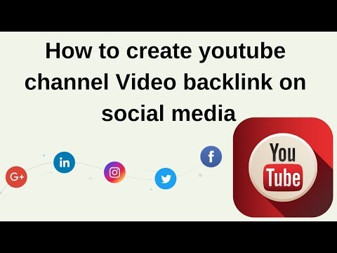 How to free YouTube video 1000 backlink generator