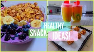 Healthy Snack Ideas | Junk Food With NO GUILT
