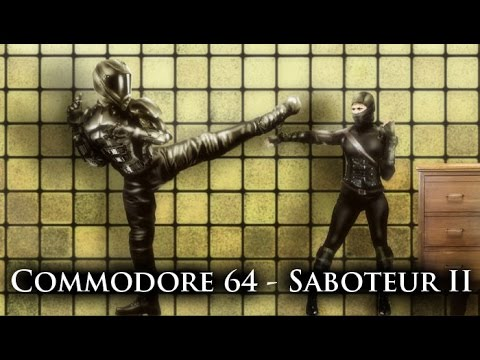 Oglądaj: Saboteur II - Commodore 64 - photoshop remastering