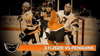 Penguins vs. Phantoms | Mar. 11, 2020