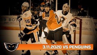 Penguins vs. Phantoms | Mar. 11, 2020