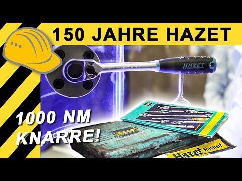 1000 NM Knarre & historisches HAZET Werkzeug | Eisenwarenmesse 2018