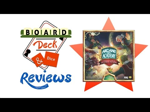 Board, Deck & Dice Review #68 - Arcane Academy