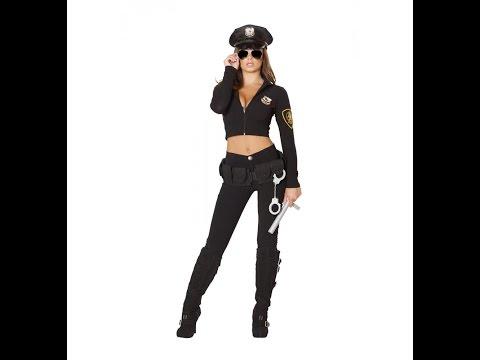 Roma Polizistin Kostüm Police Outfit Jenna I 4501