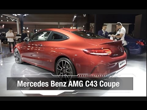 IIMS 2017: First Impression Mercedes Benz C43