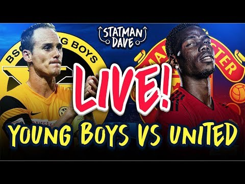 Young Boys 0-3 Manchester United LIVE   Statman Dave Watchalong