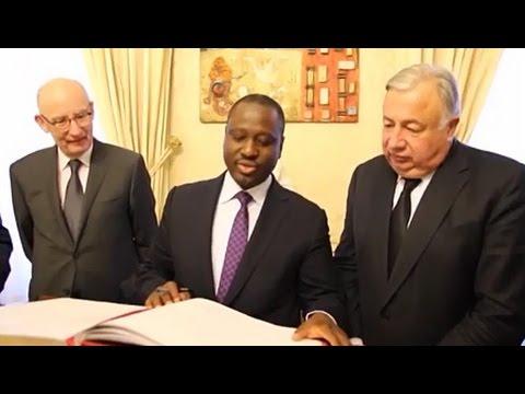 Coopération France Côte D'Ivoire (Coopération Interparlementaire): Guillaume SORO reçu en France par Gérald LARCHER Président du Sénat Français