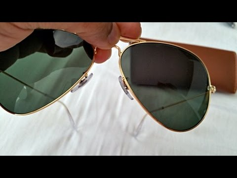 How to Spot Fake Rayban Aviator Sunglasses (highest grade fake RB 3025)