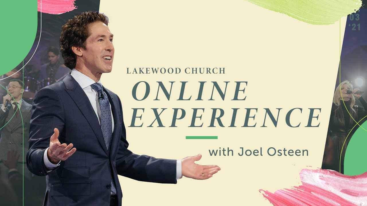 Lakewood Church: Joel Osteen Sunday 7th March 2021 Live Service