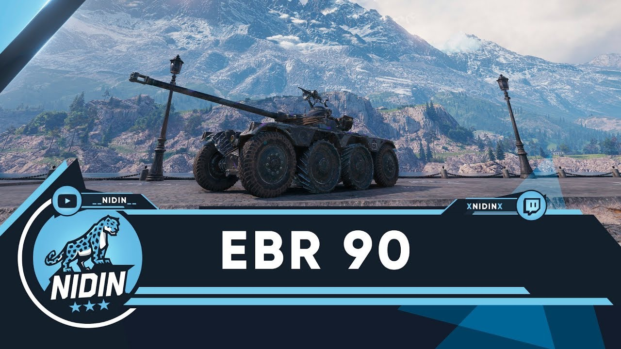 EBR 90 ● Колёсные ЛТ 9 лвл
