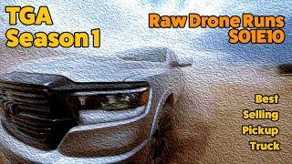 Raw Drone Runs :: Top Gear America 2020 :: Season 1 :: s01e10 Best Selling Pickup Truck