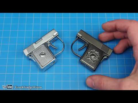 TOP 10 Pistol Lighters RARE And UNUSUAL
