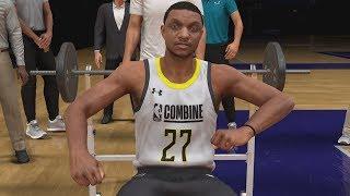 NBA 2K20 My Career EP 4 - Draft Combine!