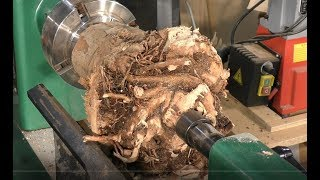 241 Wood-turning the root of all evil bowls !!!