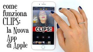 CLIPS, Nuova App di Apple: gratis e splendida, guardate cosa fa!