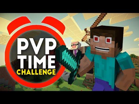 Minecraft PVP TIME CHALLENGE #1 with Vikkstar & PrestonPlayz Minecraft PVP