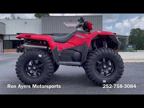 2022 Suzuki KingQuad 750AXi in Greenville, North Carolina - Video 1