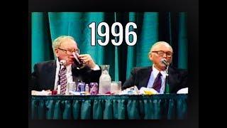 1996 Berkshire Hathaway Annual Meeting Warren Buffett Charlie Munger FULL Q&A
