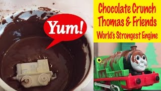 Thomas And Friends Percy's Chocolate Crunch - World's Strongest Engine