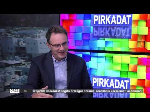 Dr. Toldy-Scheidel Emil, a Szent Ferenc Kórház főigazgatója a Heti Tv Pirkadat című műsorában. | …