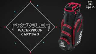 NEW 2018 Lynx Prowler Waterproof Cart Bag