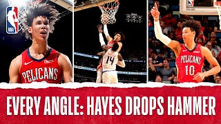 Every Angle Of Jaxson Hayes' MONSTER JAM | Dec. 5, 2019