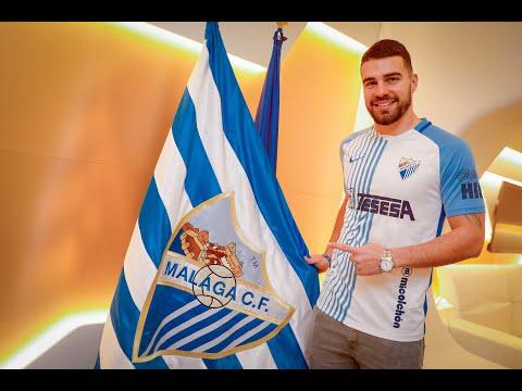 El Málaga presenta oficialmente a su último fichaje: Alexander González
