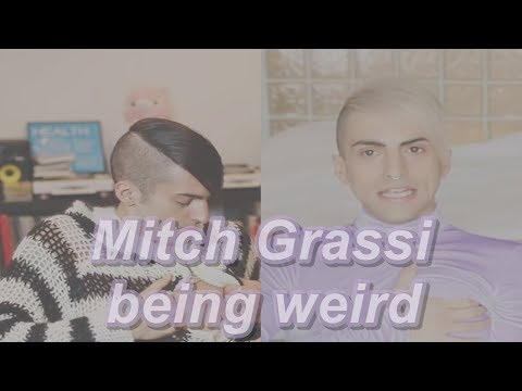 Mitch Grassi being weird for 1 minute and 59 seconds